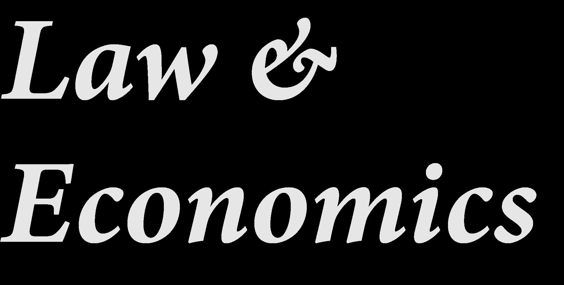 law and economics logo